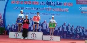 THPT Sào Nam- VỚi giải Việt dã 2018