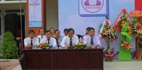 KHAI GIẢNG NĂM HỌC 2019-2020