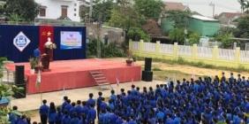 Hội trại chào mừng 90 năm  ngay thành lập Đoàn TNCS Hồ Chí Minh